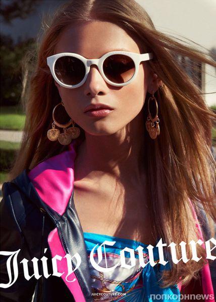 Новая коллекция и рекламная кампания Juicy Couture. Весна / лето 2012