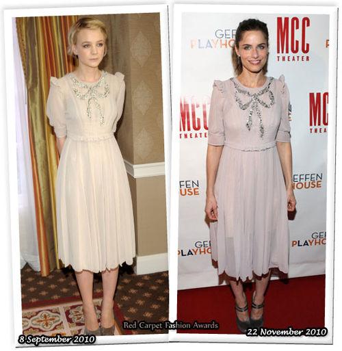 Fashion Battle: Кэри Маллиган и Аманда Пит