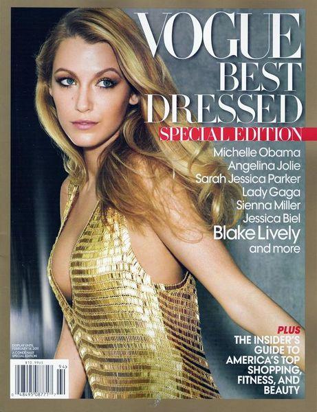 Блэйк Лайвли - самая стильная девушка по версии US Vogue