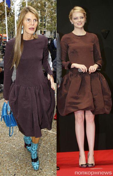 Fashion battle: Анна Делло Руссо и Эмма Стоун