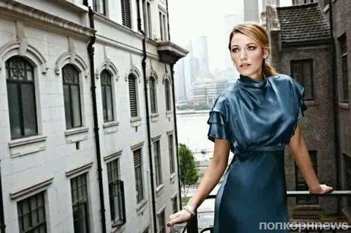 Блейк Лайвли в журнале Elle Китай. Сентябрь 2013