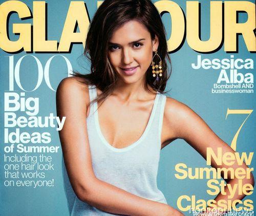 Джессика Альба в журнале Glamour. Июнь 2014