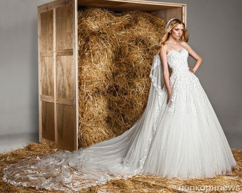 1f35fe700af Коллекция свадебных платьев Zuhair Murad. Весна 2015