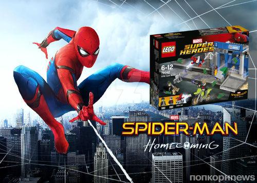 LEGO представили новую коллекцию игрушек в честь «Человека-паука: Возвращение домой»