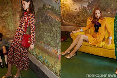 Рекламу Gucci  запретили к показу из-за слишком худой модели