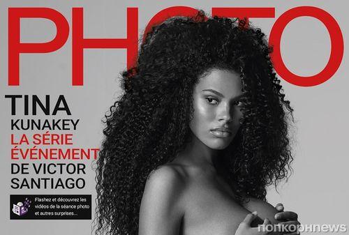 Беременная жена Венсана Касселя снялась обнажённой для журнала Photo