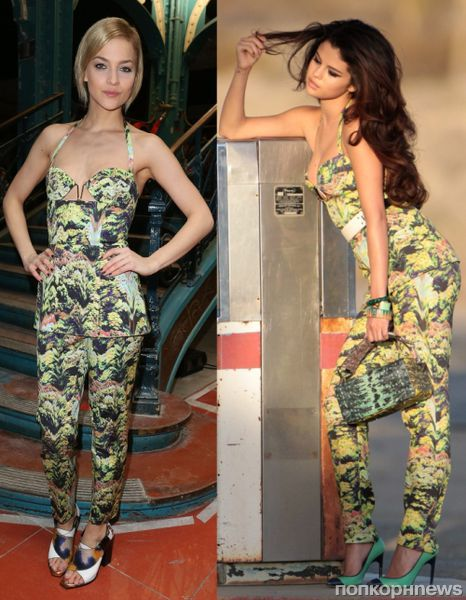 Fashion battle: Лей Лезарк и Селена Гомес