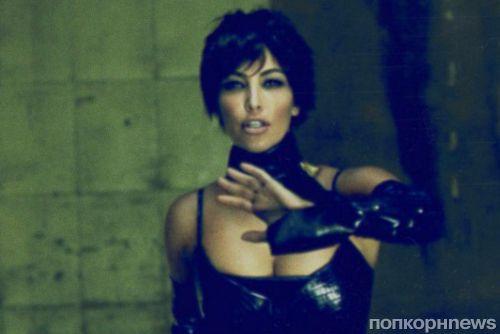 Ким Кардашьян перевоплотилась в 61-летнюю Крис Дженнер для новой фотосессии