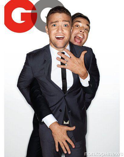Мила Кунис и Джастин Тимберлейк в новом номере журнала GQ. Декабрь 2011