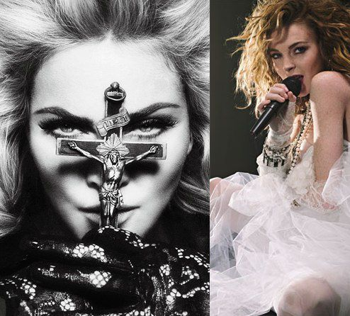 Мадонна и Деми Мур не хотят знать Линдсей Лохан