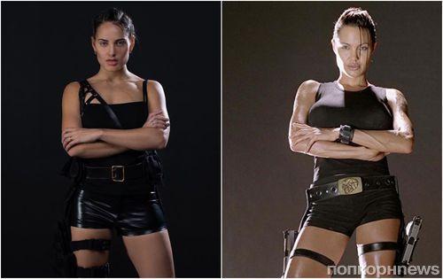 Не отличить: «русская Анджелина Джоли» примерила образы Лары Крофт и Малефисенты