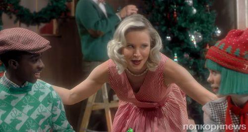 Кристен Белл снялась в рождественском клипе Sia (видео)