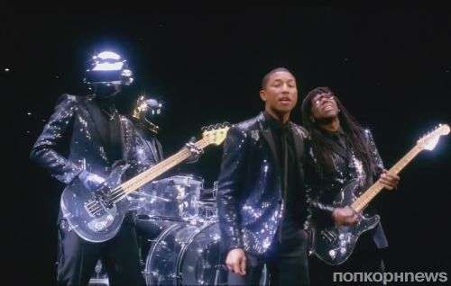 Тизер нового клипа Daft Punk feat. Pharrell Williams - Get Lucky