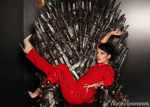 Лили Аллен запрещено говорить о шоу «Игра престолов», где играет ее брат