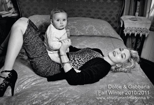 Мадонна для Dolce & Gabbana. Осень/Зима 2010-11
