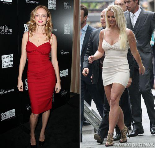 Fashion Battle: Хизер Грэм и Бритни Спирс