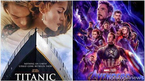 Джеймс Кэмерон поздравил «Мстителей: Финал» с победой над «Титаником»