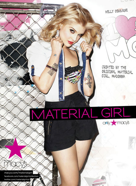 Келли Осборн для Material Girl
