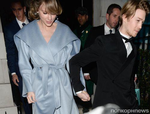 Вот это любовь: Тейлор Свифт пропустила «Грэмми», чтобы поддержать Джо Элвина на BAFTA Awards