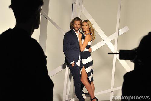 Хайди Клум и Габриэль Обри в рекламной кампании INC