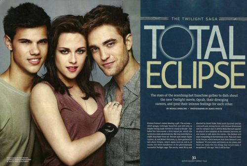Интервью Стюарт, Лотнера и Паттинсона для Entertainment Weekly