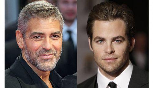 Джордж Клуни снимет Криса Пайна в своем новом фильме