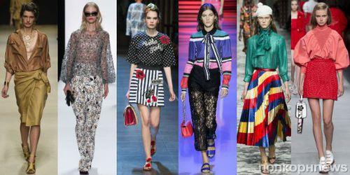 175b783f86b Модные блузки лето 2016  фото модных тенденций