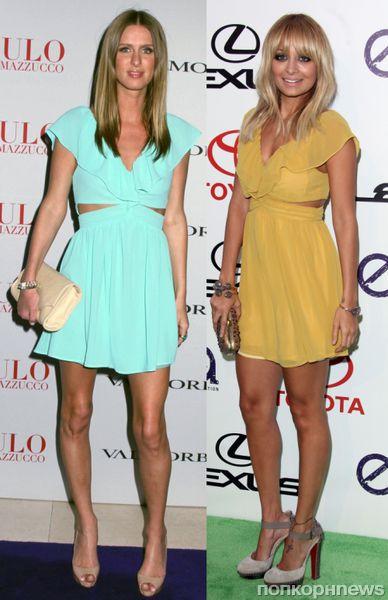 Fashion battle: Ники Хилтон и Николь Ричи
