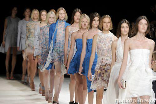 Модный показ новой коллекции Nina Ricci. Весна / лето 2013
