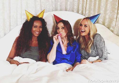 Spice Girls воссоединились, но остались втроем