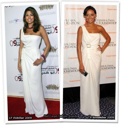 Fashion battle: Ева Мендес и Селита Ибэнкс