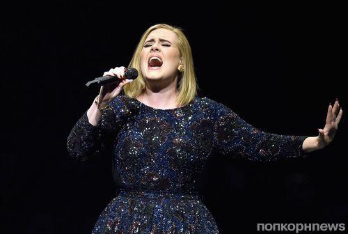 Адель стала эстрадной певицей года поверсии Billboard