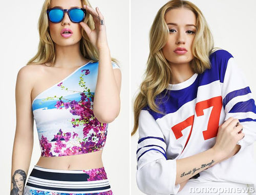 Игги Азалия в рекламной кампании Revolve Clothing 2014