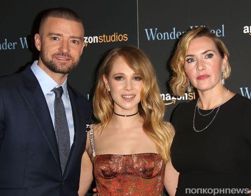 Кейт Уинслет и Джастин Тимберлейк вышли на красную дорожку премьеры «Колеса чудес»
