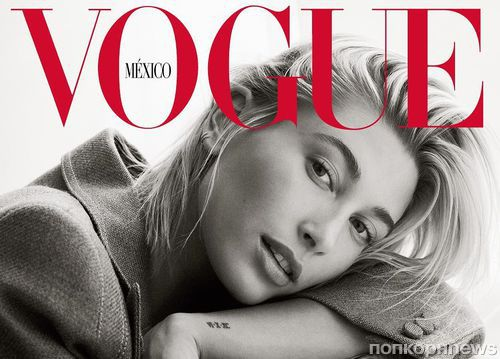 Хейли Болдуин показала помолвочное кольцо от Джастина Бибера на обложке Vogue