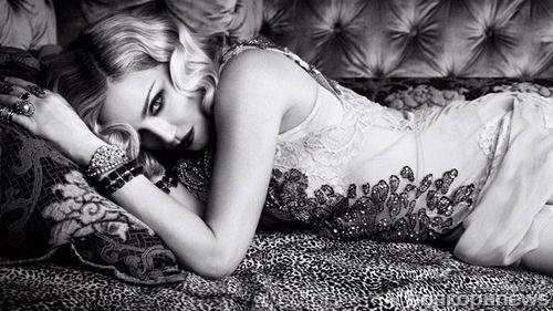 Мадонна в фотосессии для юбилейного номера Harper's Bazaar