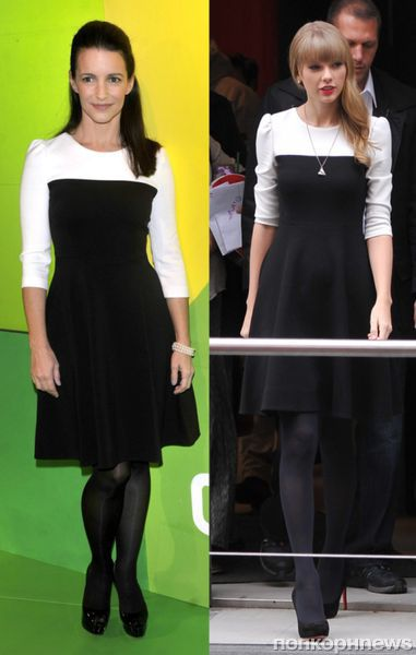 Fashion battle: Кристин Дэвис и Тейлор Свифт