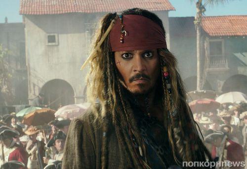 """Джонни Депп и Хавьер Бардем на новых кадрах из """"Пиратов Карибского моря 5"""""""