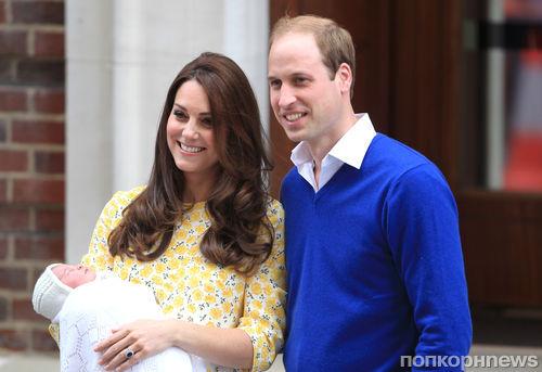 Принцесса Шарлотта доставляет родителям меньше хлопот, чем принц Джордж