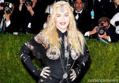 Мадонна назвала свой наряд на Met Gala 2016 «политическим заявлением»