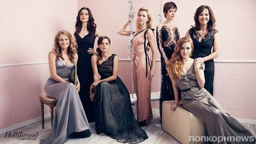 Оскароносные актрисы в журнале The Hollywood Reporter. Ноябрь 2013