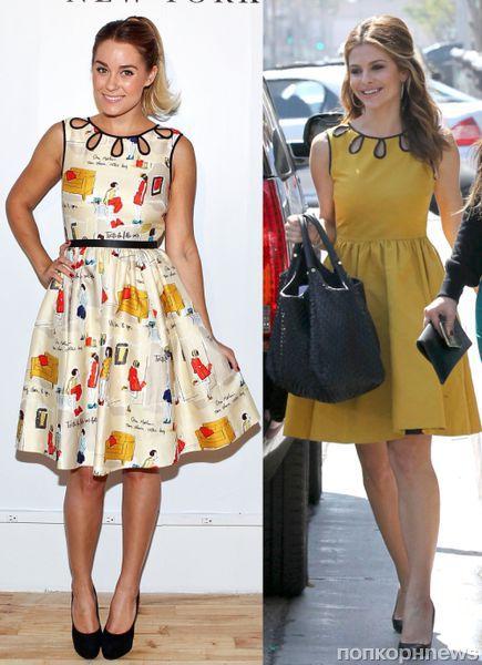 Fashion battle: Лорен Конрад и Мария Менунос
