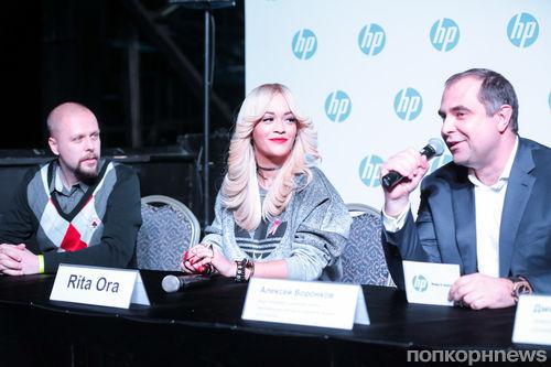 Рита Ора побывала в Москве