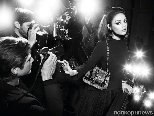 Видео: Мила Кунис в рекламе сумок Miss Dior