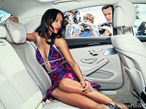 Зои Салдана в журнале Marie Claire. Август 2014