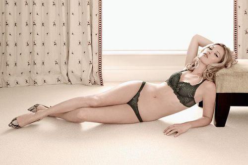 Кейт Мосс для рекламной кампании Valisere