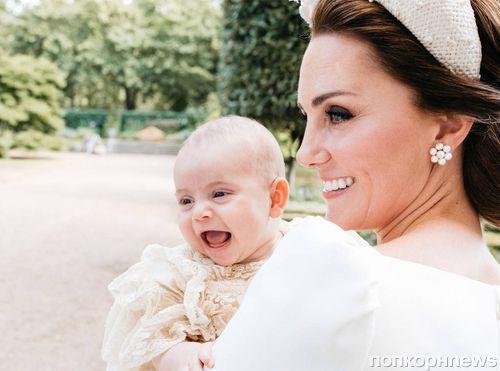 Кейт Миддлтон рассказала, что 8-месячного принца Луи уже учат махать по-королевски