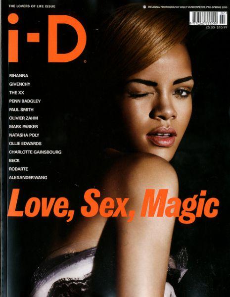 Рианна в журнале  i-D. Весна 2010