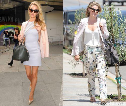 Fashion battle: Роузи Хантингтон-Уайтли и Али Лартер