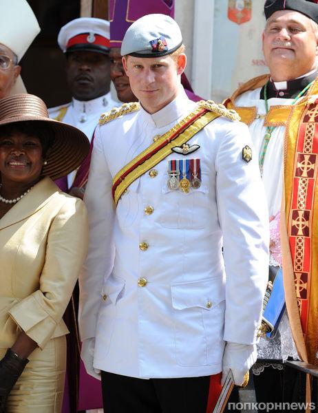 Принц Гарри посетил Гавайские острова